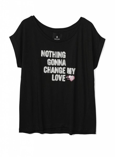 T-Shirt Round Neck Ladies - Nothing Gonna