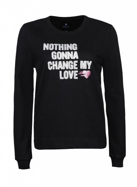 Sweatshirt Straight Fit Damen - Nothing Gonna