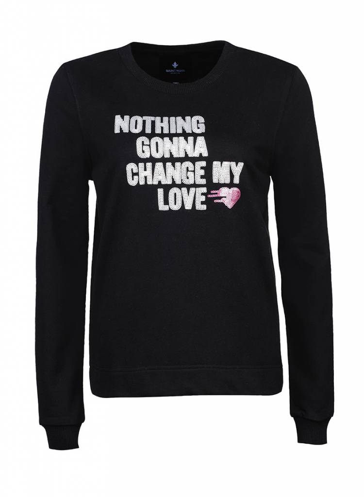 Sweatshirt Straight Fit Women - Nothing Gonna