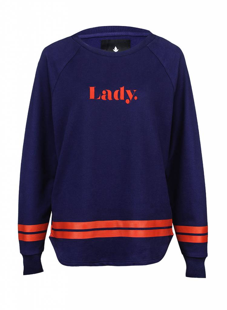 Sweatshirt Longback Women - Lady