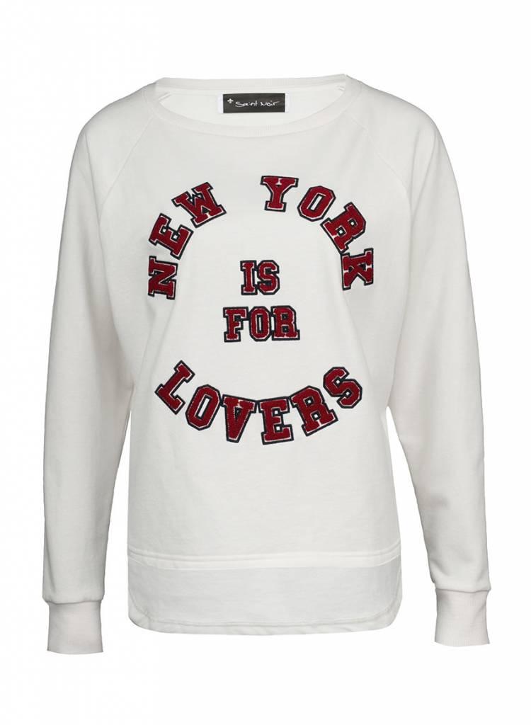 Sweatshirt Long Back Women - NY Lovers