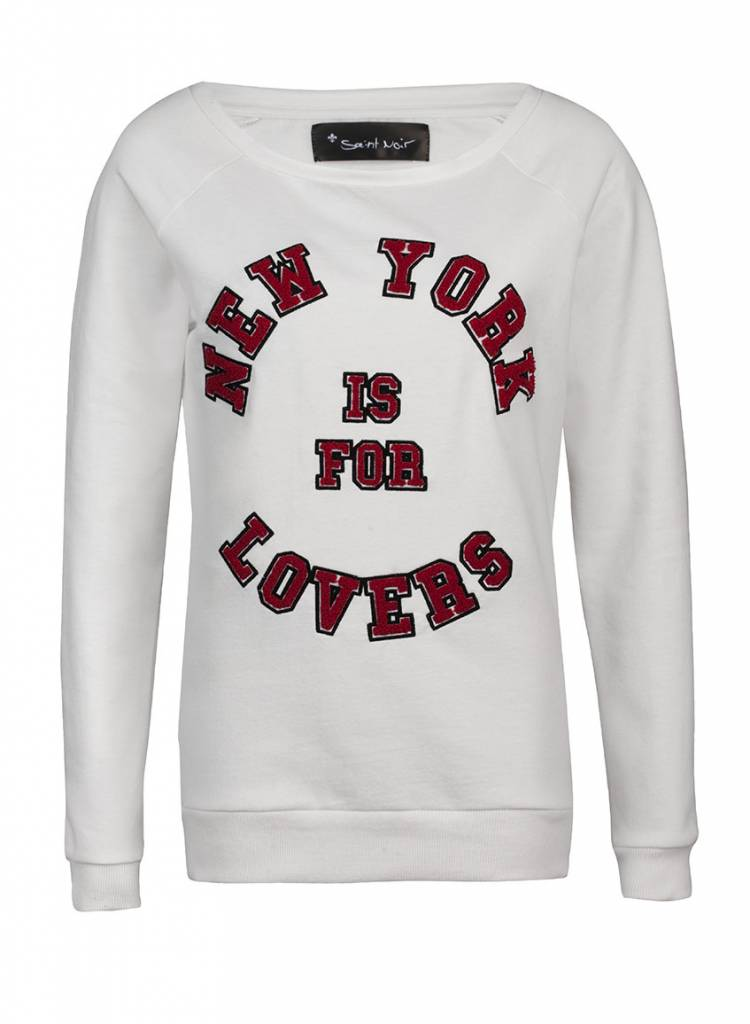 Sweatshirt Scoop Neck Ladies - Lovers NY