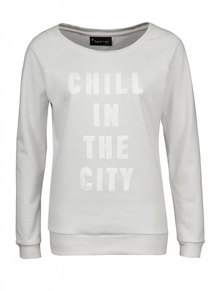 Sweatshirt Scoop Neck Damen - The City 2