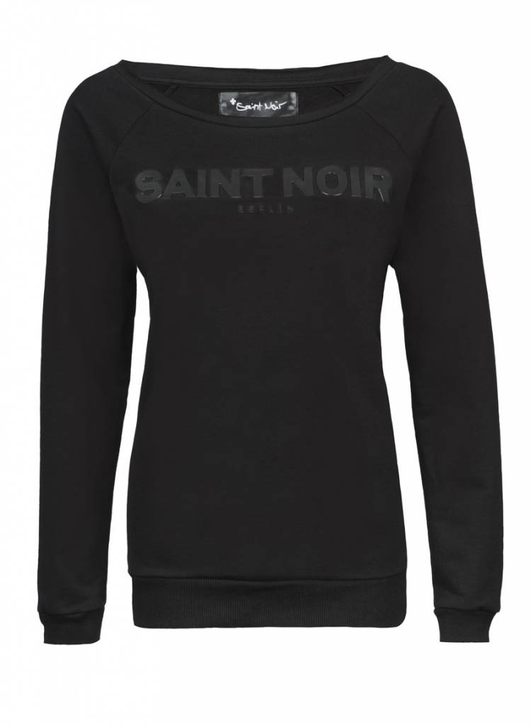 Sweatshirt Scoop Neck Ladies - Saint Noir - Saint Noir Berlin