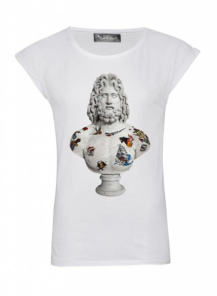 T-Shirt Rolled Sleeve Damen - Mariner - Statue Collection