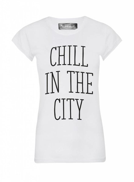 T-Shirt Skinny Cut Damen - The City