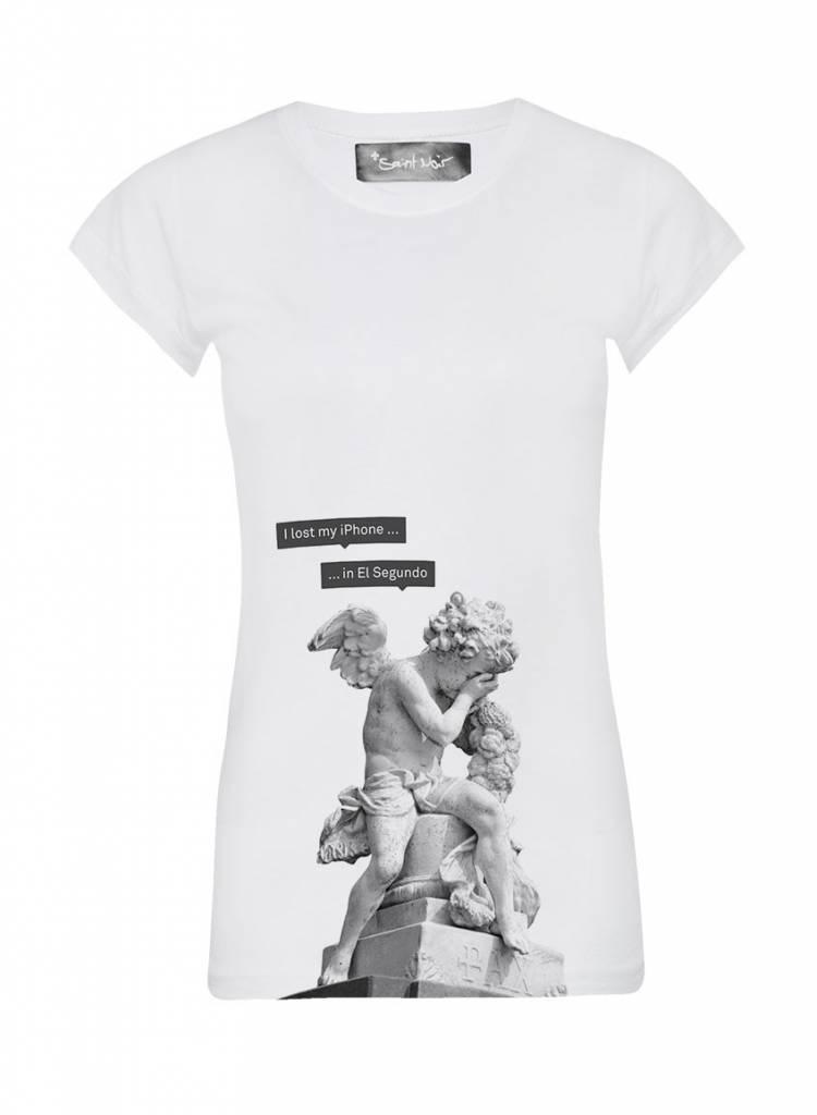 T-Shirt Skinny Cut Damen - El Segundo - Statue Collection