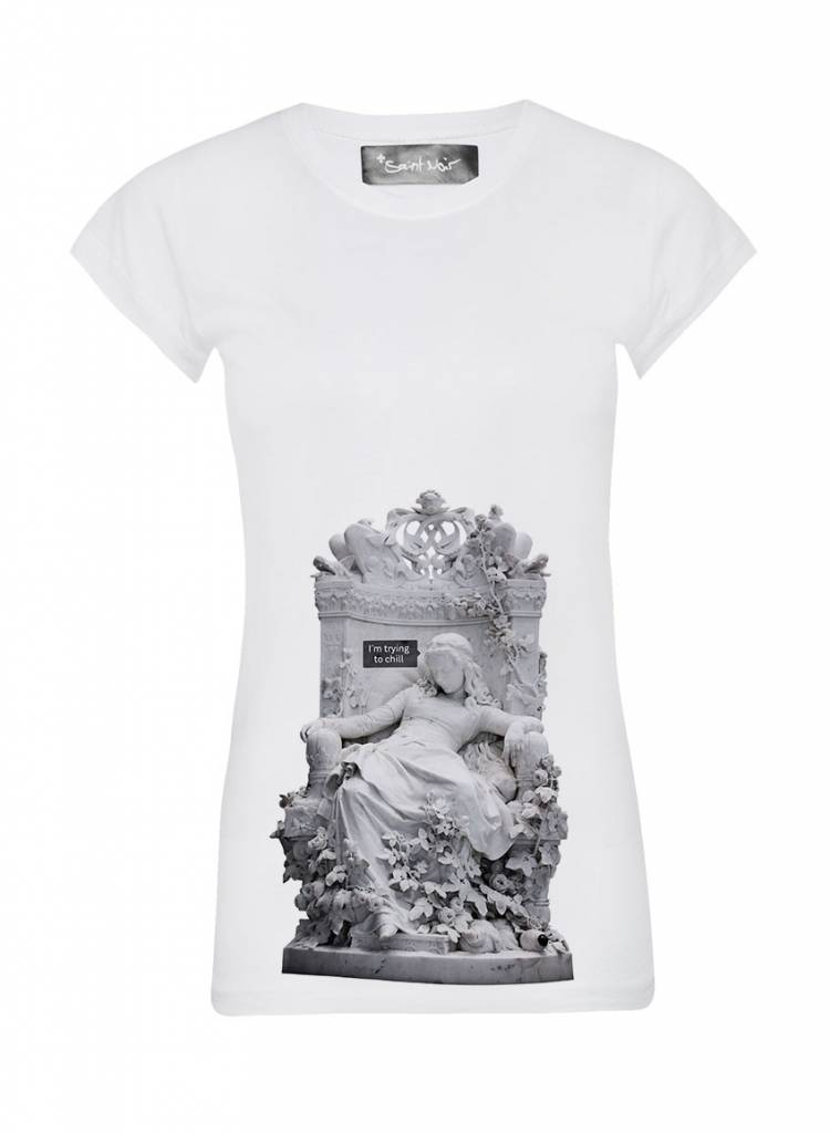 T-Shirt Skinny Cut Women - Chill - Statue Collection