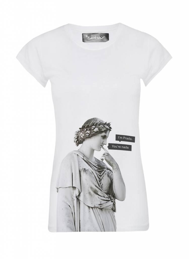 T-Shirt Skinny Cut Damen - Nada - Statue Collection