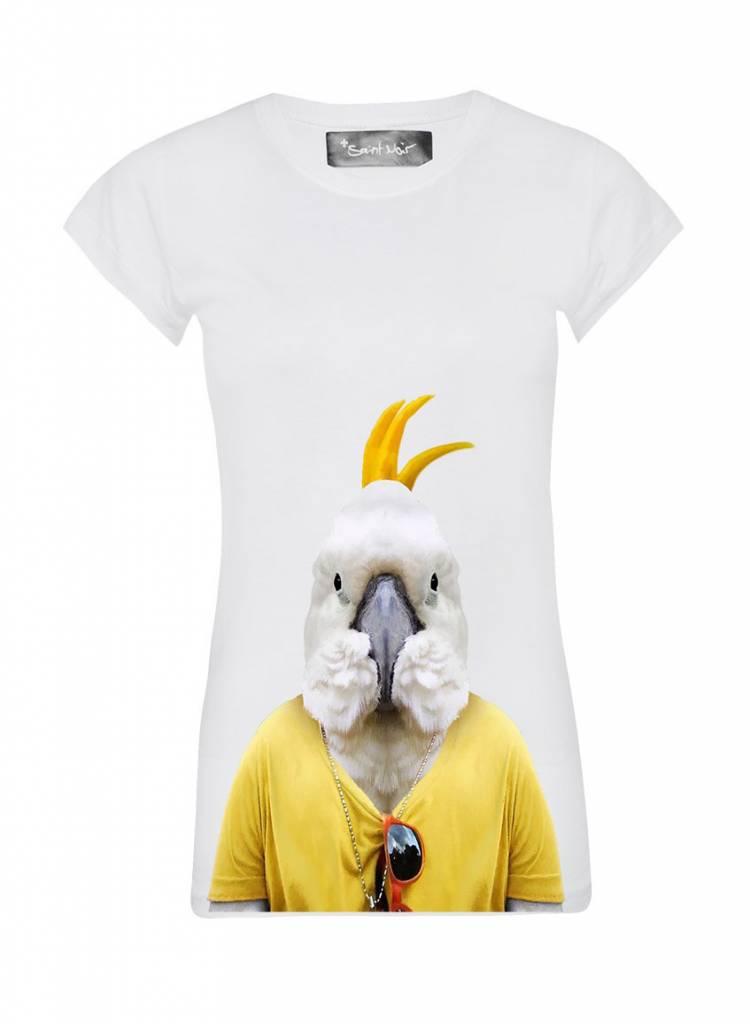 T-Shirt Skinny Cut Women - Cockatoo - Zoo Portraits