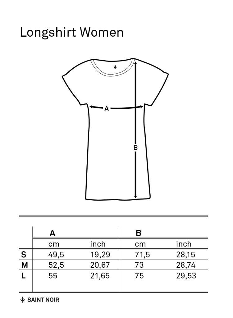 Longshirt Damen - WUP NY