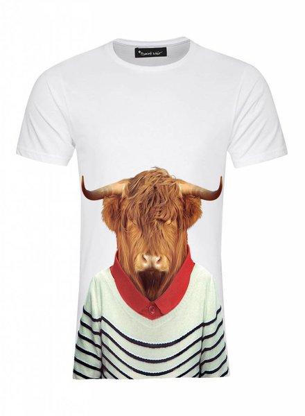 T-Shirt Men - Highland - Zoo Portraits