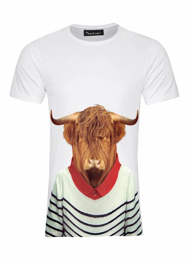 T-Shirt Herren - Highland - Zoo Portraits