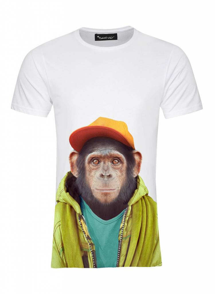 T-Shirt Men - Chimpanzee - Zoo Portraits