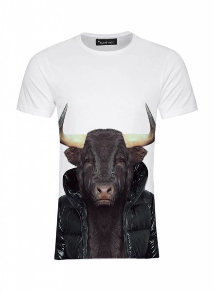 T-Shirt Men - Bull - Zoo Portraits