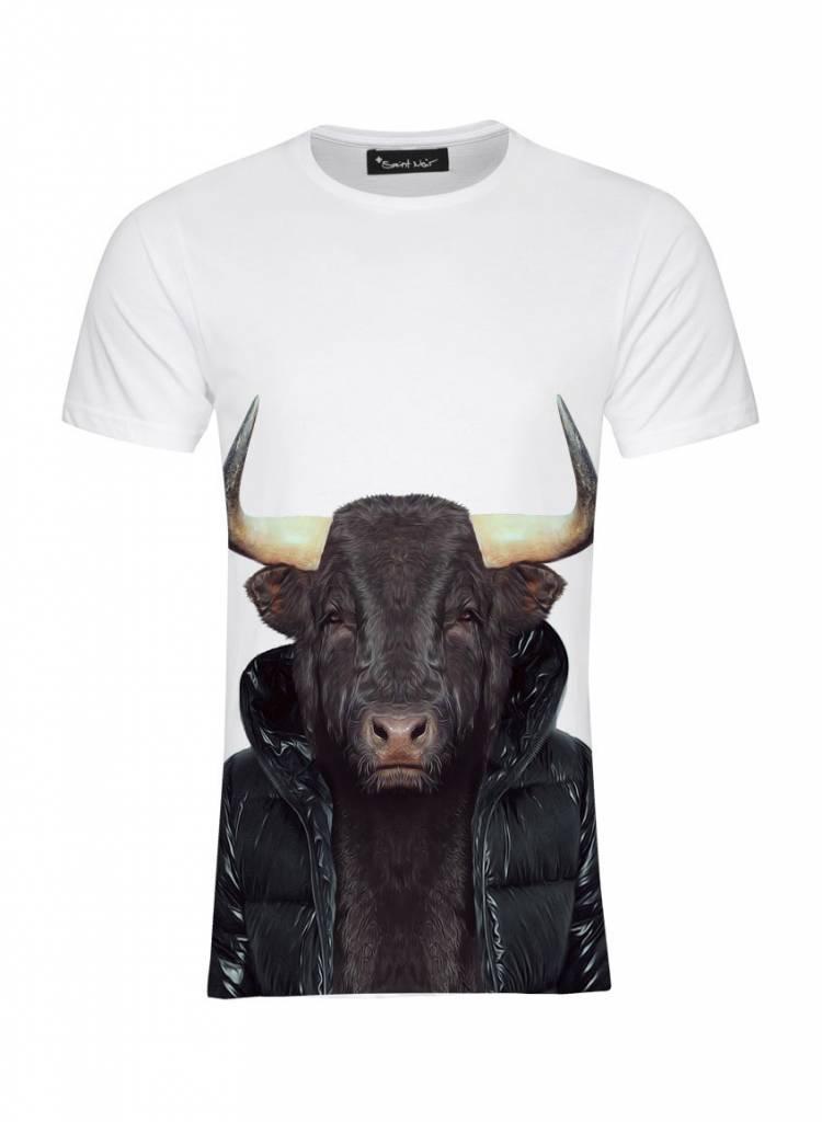 T-Shirt Men - Bull - Zoo Portraits