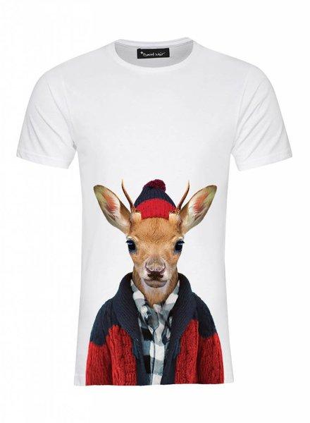 T-Shirt Herren - Whitetailed Deer - Zoo Portraits