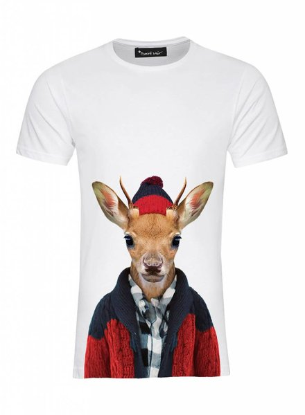 T-Shirt Men - Whitetailed Deer - Zoo Portraits