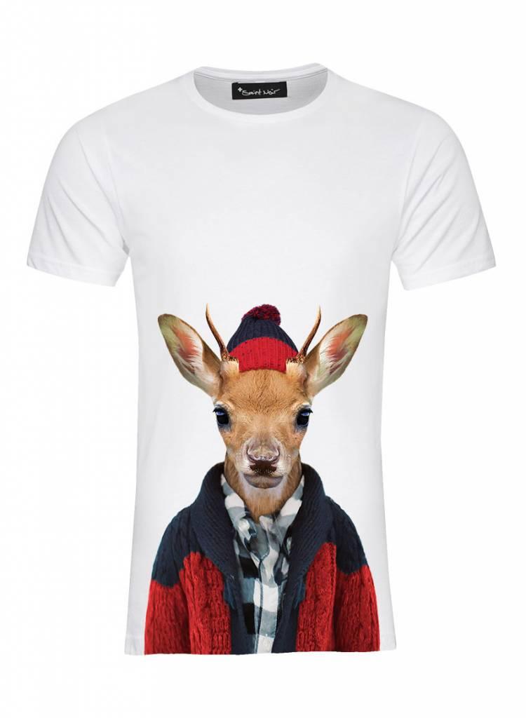 T-Shirt Men - Whitetailed Deer - Zoo Portraits