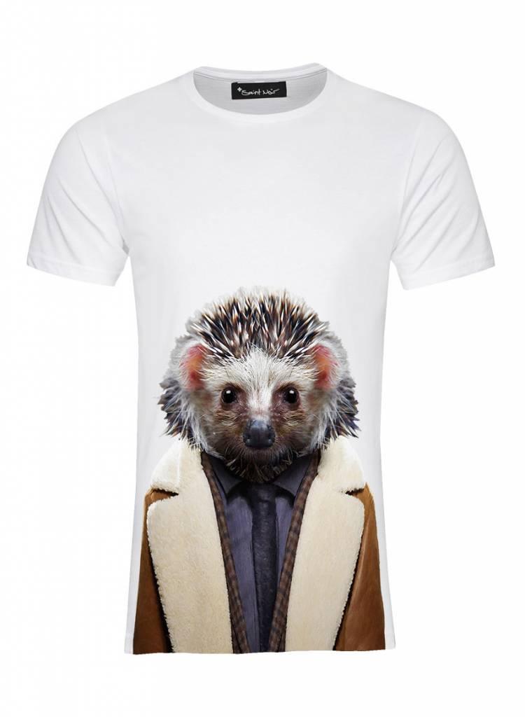 T-Shirt Men's - Desert Hedgehog - Zoo Portraits