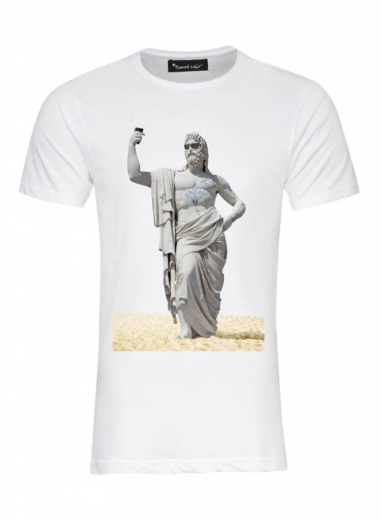 T-Shirt Herren - Beach - Statue Collection