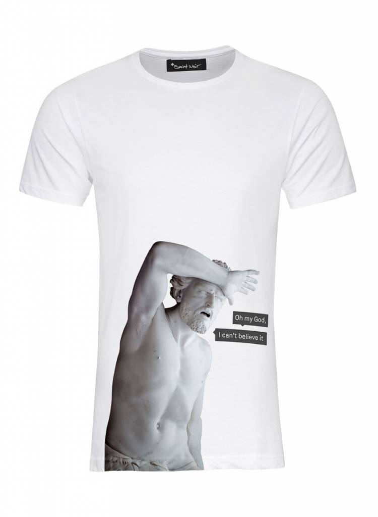 T-Shirt Herren - My God - Statue Collection