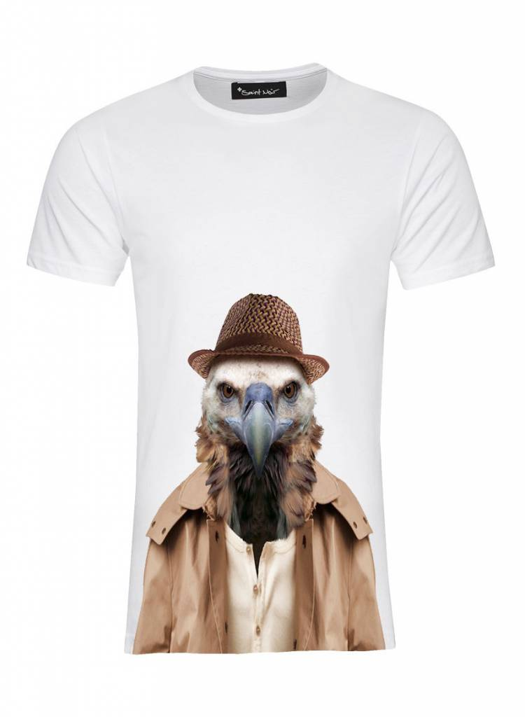 T-Shirt Men - Vulture - Zoo Portraits