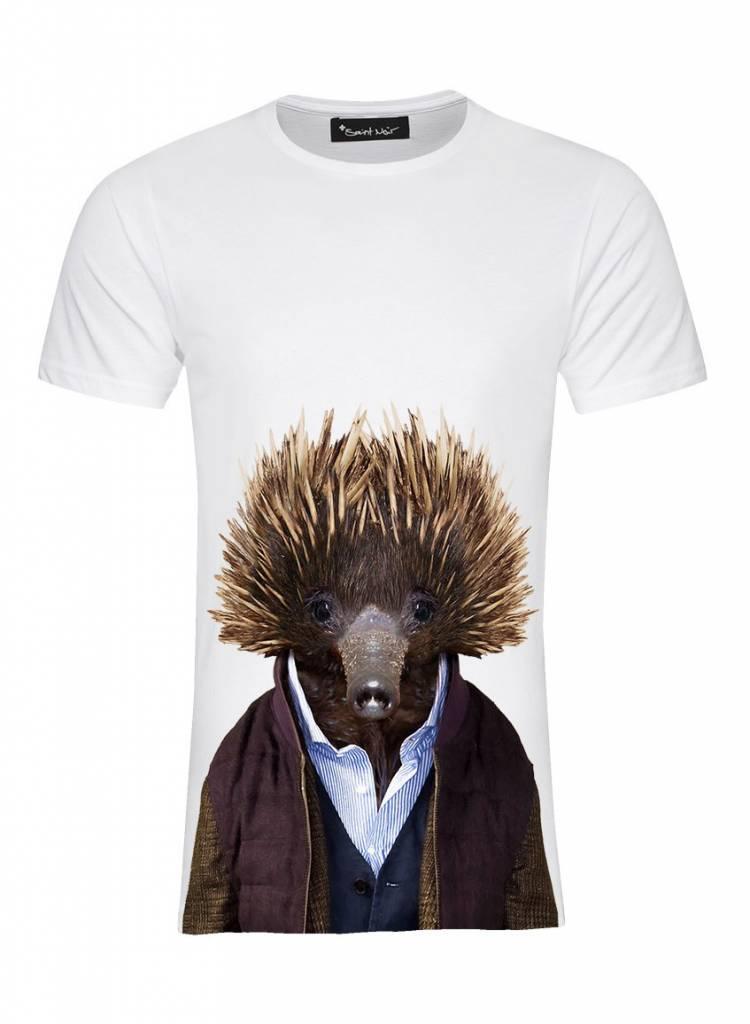 T-Shirt Men - Echidna - Zoo Portraits
