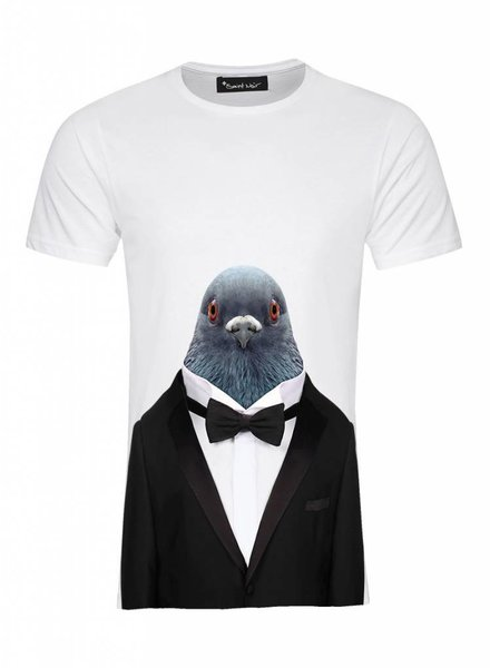 T-Shirt Herren - Pigeon - Zoo Portraits