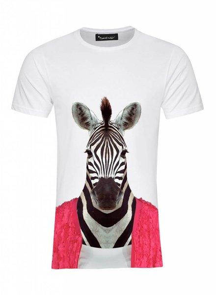 T-Shirt Herren - Zebra - Zoo Portraits
