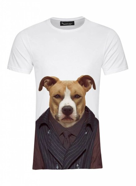 T-Shirt Men - Staffordshire - Zoo Portraits