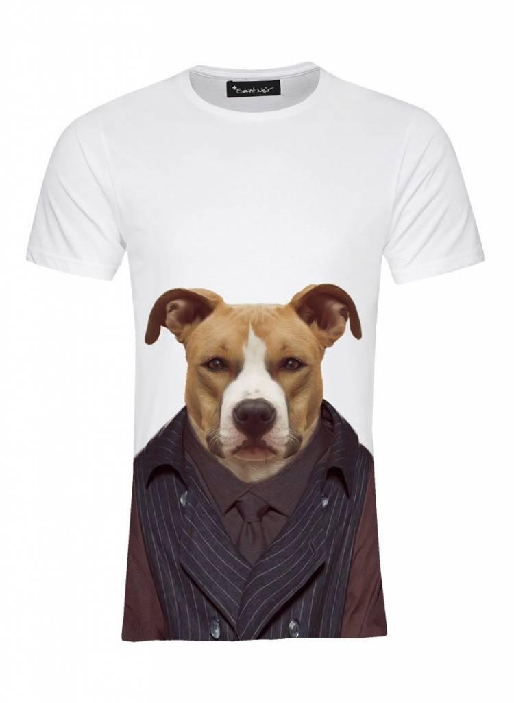 T-Shirt Herren - Staffordshire - Zoo Portraits