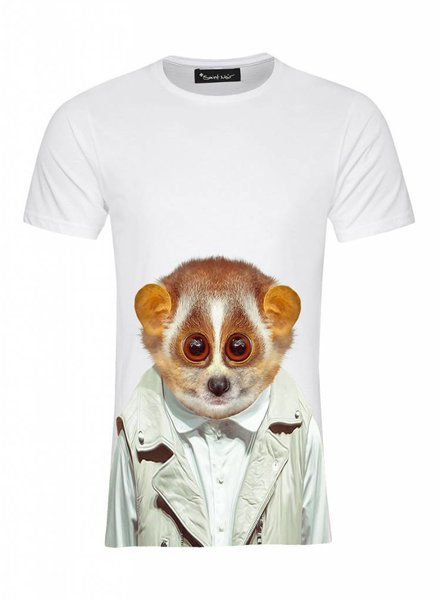 T-Shirt Men - Slowloris - Zoo Portraits