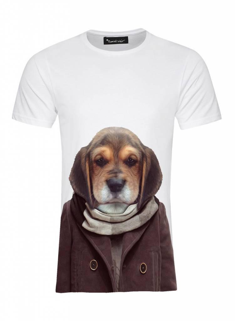 T-Shirt Herren - Puppy - Zoo Portraits