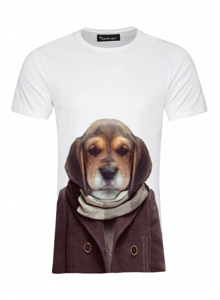 T-Shirt Men - Puppy - Zoo Portraits