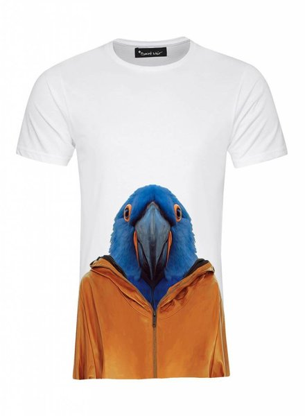 T-Shirt Men - Macaw - Zoo Portraits