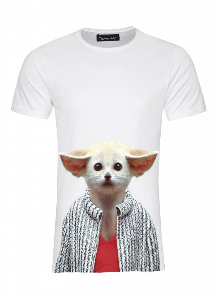 T-Shirt Herren - Fennec Fox - Zoo Portraits