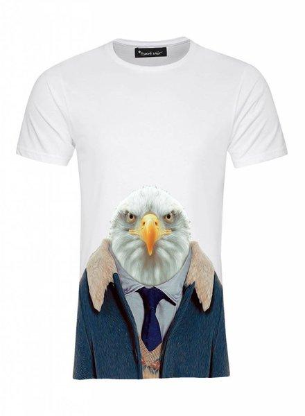 T-Shirt Men - Eagle - Zoo Portraits