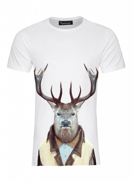 T-Shirt Men - Stag - Zoo Portraits