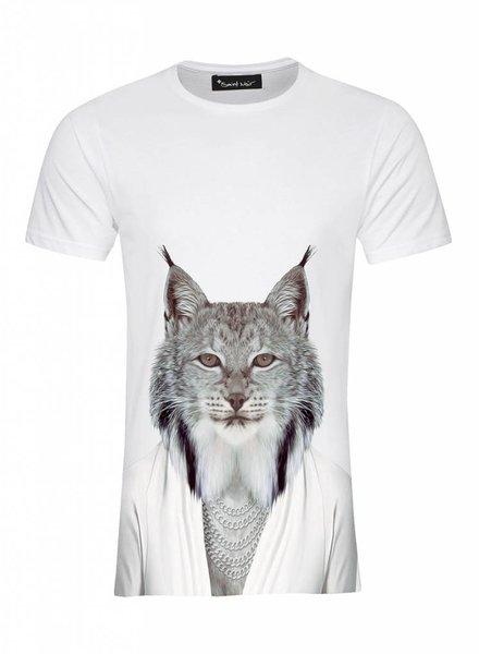 T-Shirt Herren - Lynx - Zoo Portraits