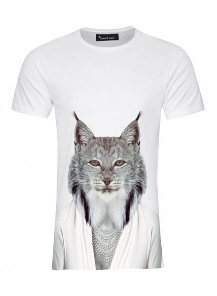 T-Shirt Men - Lynx - Zoo Portraits