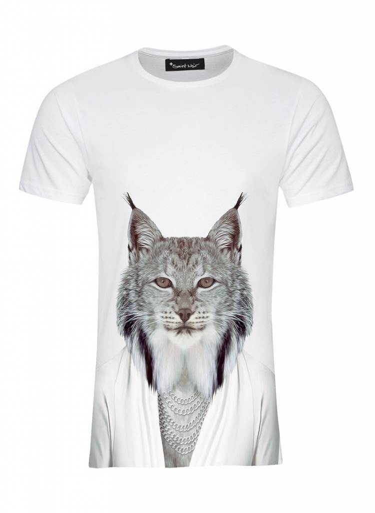 T-Shirt Men - Lynx - Zoo Portraits