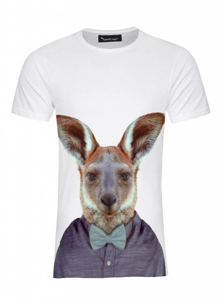 T-Shirt Men - Kangaroo - Zoo Portraits