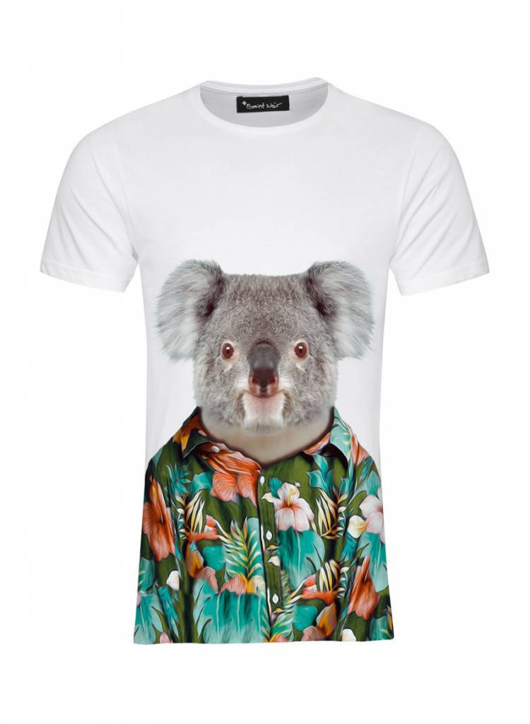 T-Shirt Men - Koala - Zoo Portraits