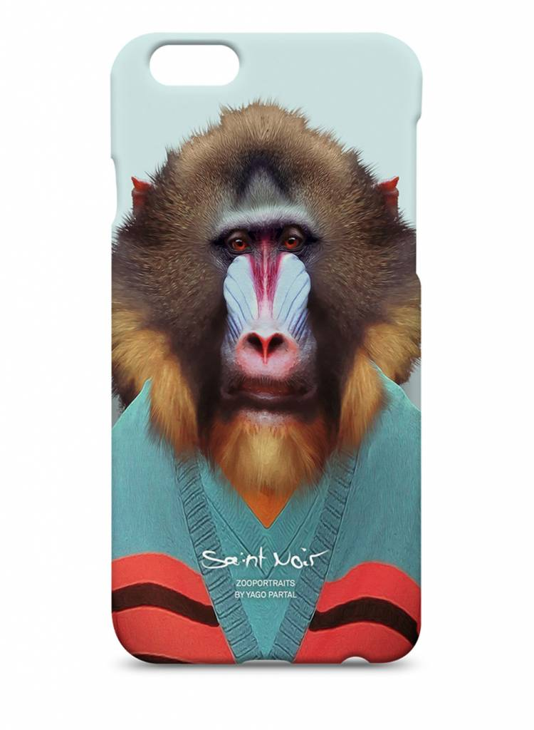 iPhone Case Accessoire - Mandrill - Zoo Portraits