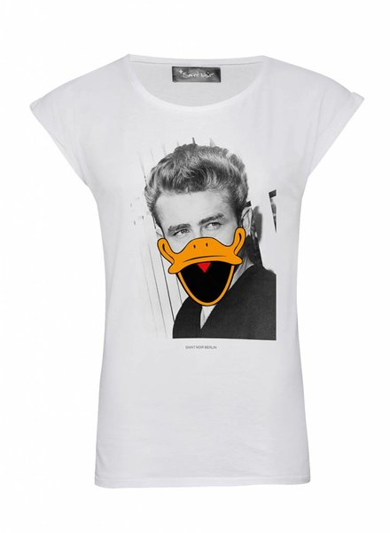 T-Shirt Rolled Sleeve Women - James - Duck Faces