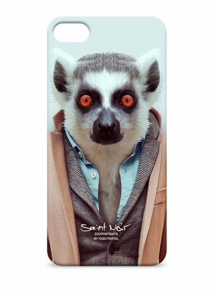 iPhone Case Accessoire - Lemur - Zoo Portraits