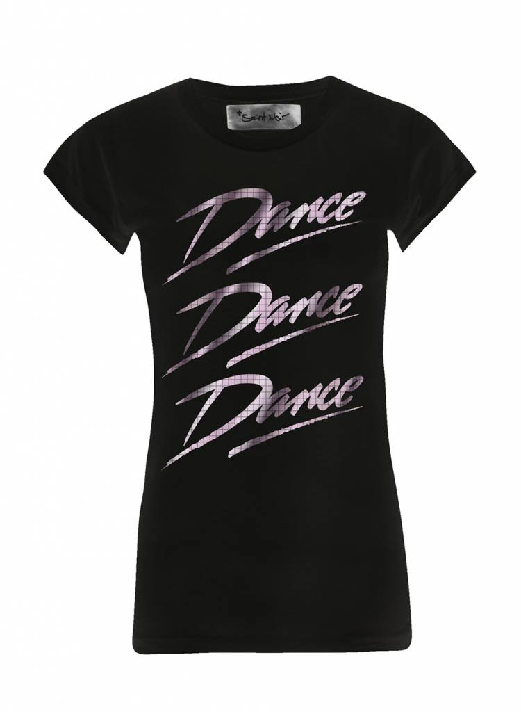 T-Shirt Skinny Cut Damen - Dance