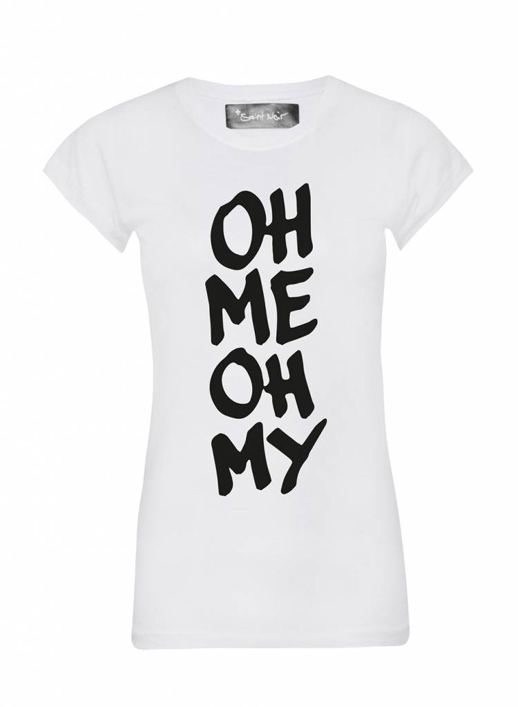 T-Shirt Skinny Cut Damen - Oh My