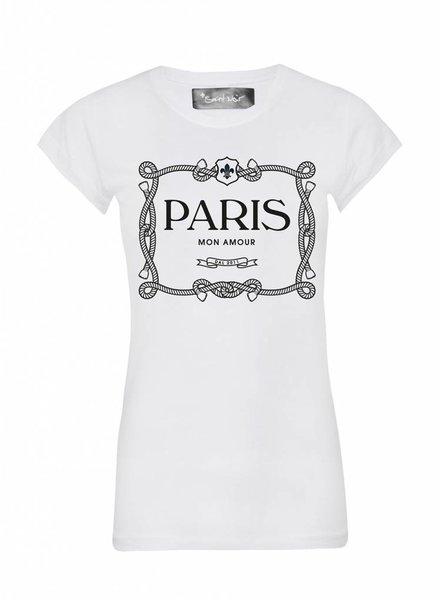 T-shirt Skinny Women Cut - Paris Mon Amour